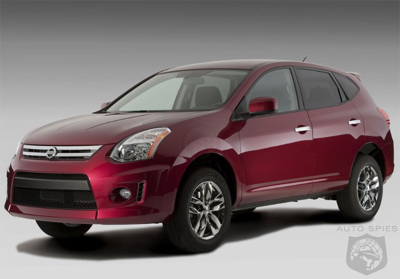 2010 nissan rogue krom pricing announced autospies auto news. Black Bedroom Furniture Sets. Home Design Ideas